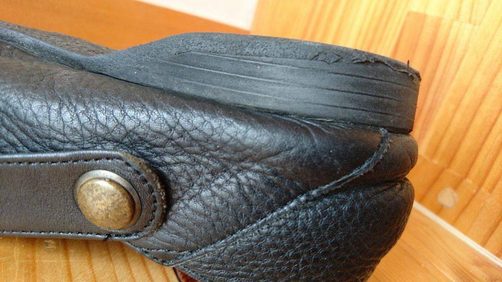 靴_靴の修理屋さん_ダイソー_かかと_修理